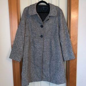 GAP Gray Peacoat (XL)